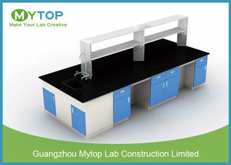 Durable Pharmacy Science Lab Benches With Epoxy Worktop Chemical Resistance